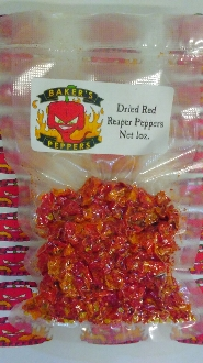 Dried Reaper Red Peppers - 1oz Pack